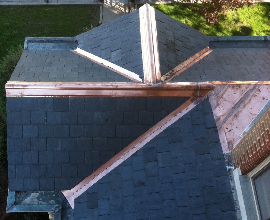 Copper gutters and Valleys   DACA Roofing